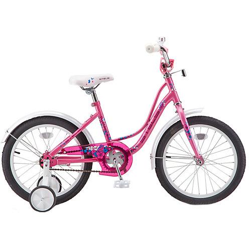 Двухколесный велосипед Stels Wind 18, розовый от Stels