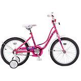 Двухколесный велосипед Stels Wind 18 дюймов, розовый