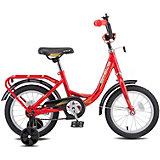Двухколесный велосипед Stels Flyte 14, красный