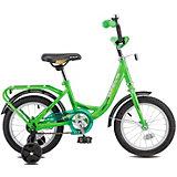 Двухколесный велосипед Stels Flyte 14, зелёный