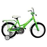 Двухколесный велосипед Stels Talisman 14 дюймов, зеленый