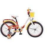 Двухколесный велосипед Stels Pilot-190 18 дюймов, красный/желтый/белый