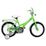 Двухколесный велосипед Stels Talisman 16 дюймов, зеленый