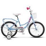 Двухколесный велосипед Stels Flyte Lady 16, голубой