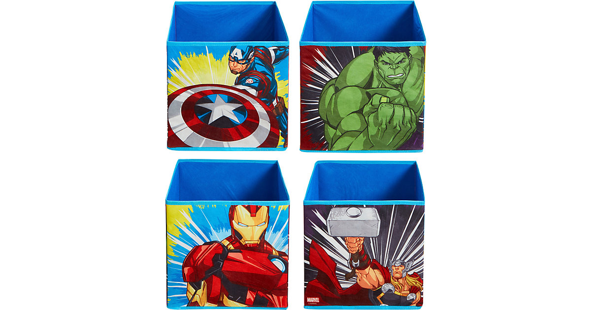 Image of Aufbewahrungsbox Marvel-Avengers, 4er Set