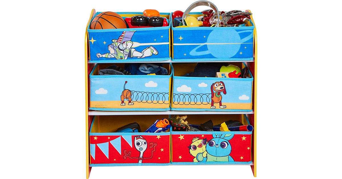 Image of Ablageregal Toy Story, mit 6 Boxen
