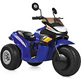 Электромобиль-мотоцикл Bugati, синий