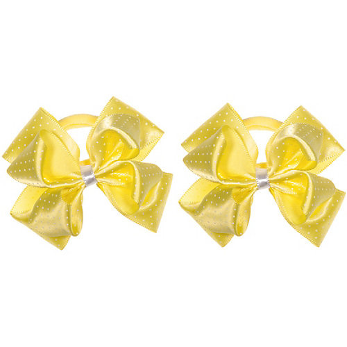 Бант Babys Joy, 2шт. - желтый от Babys Joy