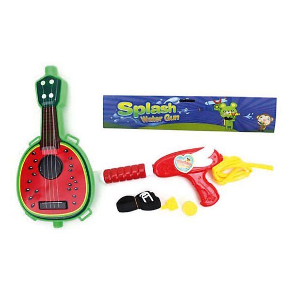 "Водяной бластер с рюкзаком Наша игрушка ""Гитара"""