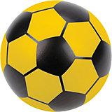 "Мяч Наша игрушка ""Футбол"", 15 см, желтый"