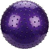 """Мяч с шипами Наша игрушка """"Фитнес"""", 55 см, фиолетовый"""