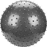 """Мяч с шипами Наша игрушка """"Фитнес"""", 55 см, серебряный"""