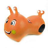 Гусеничка-попрыгунчик Наша игрушка, оранжевая