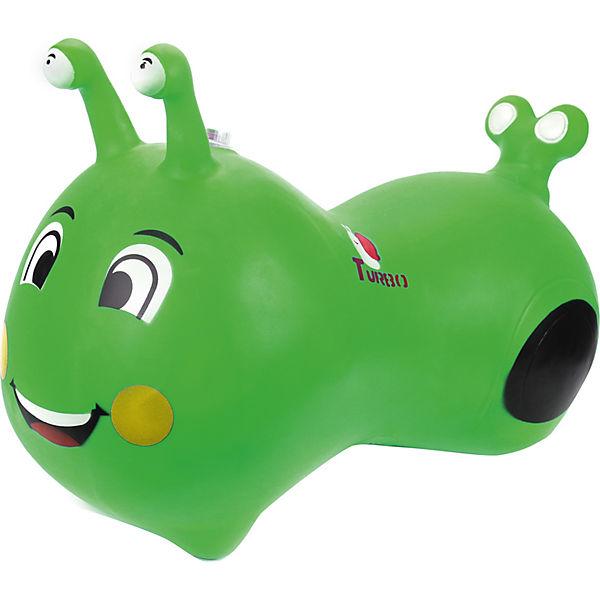 Гусеничка-попрыгунчик Наша игрушка, зеленая
