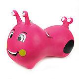 Гусеничка-попрыгунчик Наша игрушка, розовая