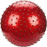 """Мяч с шипами Наша игрушка """"Фитнес"""", 55 см, красный"""