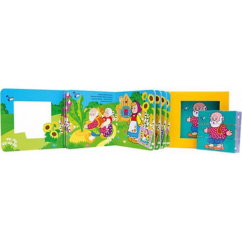 """Книга с кубиками """"Репка"""" от Мозаика-Синтез"""
