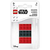 Набор ластиков LEGO Star Wars, 3 шт