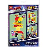 Набор наклеек LEGO «Статикер» Movie 2 Дупло Утка