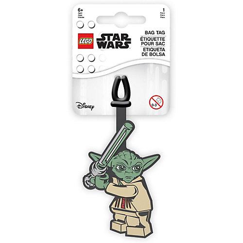 Бирка для багажа LEGO Star Wars Йода - зеленый