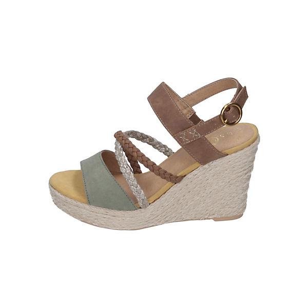 low priced 8a427 00581 s.Oliver Shoes S. Oliver Damen Sandalette Keilsandaletten, s ...