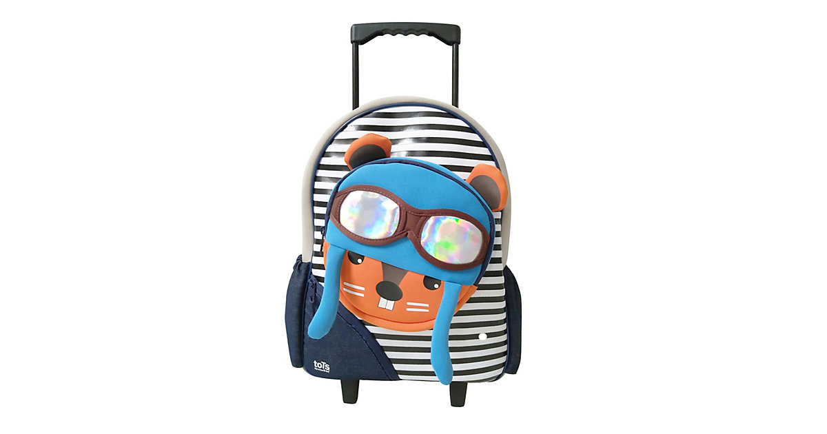Trolley Eichhörnchen bunt | Taschen > Koffer & Trolleys > Trolleys | Bunt | Kunststoff - Baumwolle - Polyester | toTs by smarTrike