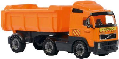 WADER Little Farmer Traktor 2-Achsanhänger Trecker Kinderspielzeug Sandkasten Spielzeugautos