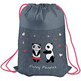 Мешок для обуви Berlingo Funny Pandas