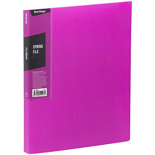 Папка с пружинным скоросшивателем Berlingo Color Zone, розовая от Berlingo