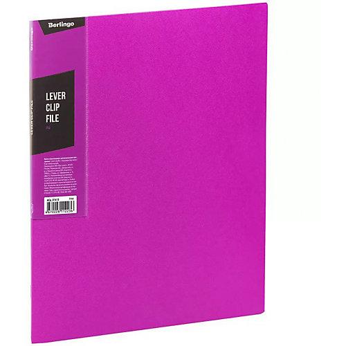 Папка с зажимом Berlingo Color Zone, розовая от Berlingo
