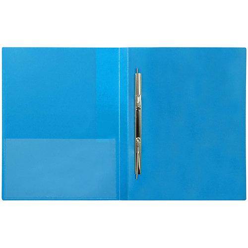 Папка с пружинным скоросшивателем Berlingo «Color Zone», синяя от Berlingo