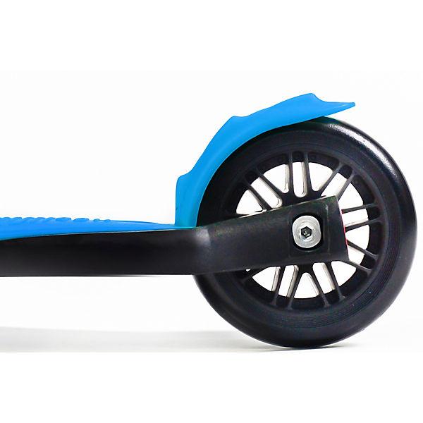 Трехколесный самокат Buggy Boom Alfa Model, голубой