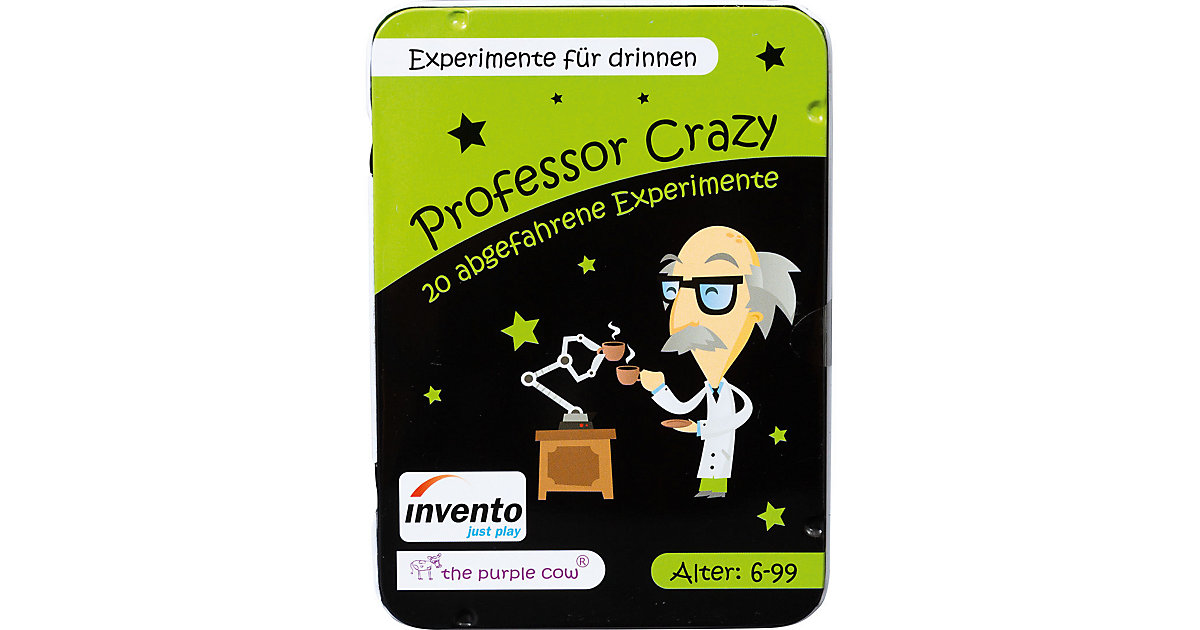 Professor Crazy: Experimente drinnen  Kinder