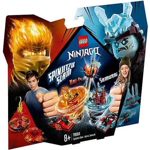 Конструктор LEGO Ninjago 70684: Бой мастеров кружитцу — Кай против Самурая от LEGO