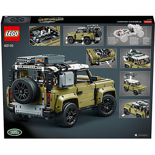 Конструктор LEGO Technic Land Rover Defender 42110 от LEGO