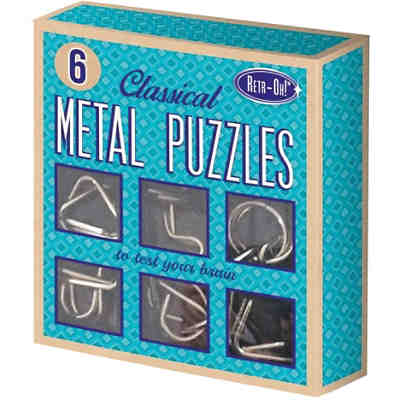Retr-Oh: 6 Metal Puzzles