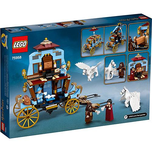 "Конструктор LEGO Harry Potter ""Карета школы Шармбатон: приезд в Хогвартс"", 430 деталей, арт 75958 от LEGO"