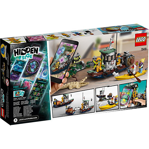 "Конструктор LEGO Hidden Side ""Старый рыбацкий корабль"", 310 деталей, арт 70419 от LEGO"