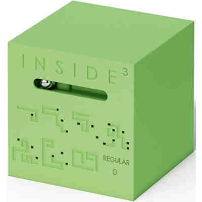 Geduldsspiel: Inside 3 Cube Regular 0 (Green)