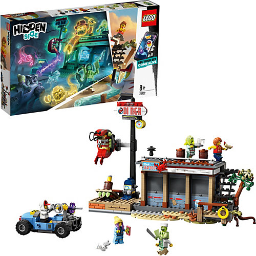 """Конструктор LEGO Hidden Side """"Нападение на закусочную"""", 578 деталей, арт 70422 от LEGO"""