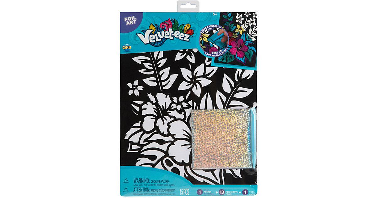 Velveteez Foil Art Tropical Flower