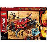 Конструктор LEGO Ninjago 70675: Внедорожник Катана 4x4