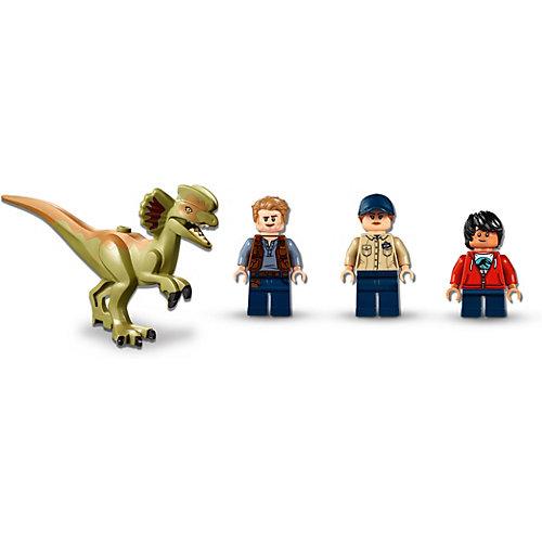 Конструктор LEGO Jurassic World 75934: Побег дилофозавра от LEGO