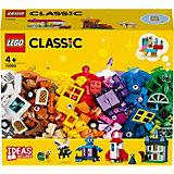 Конструктор LEGO Classic 11004: Набор для творчества с окнами