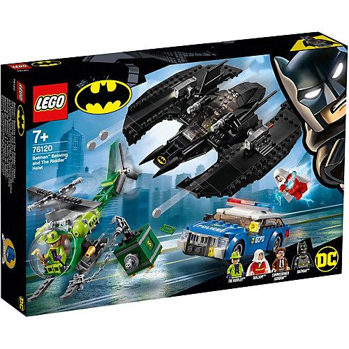 Конструктор LEGO Super Heroes 76120: Бэткрыло Бэтмена и ограбление Загадочника от LEGO