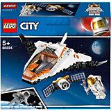 Конструктор LEGO City Space Port 60224: Миссия по ремонту спутника
