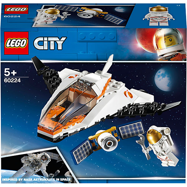 LEGO 60224 City: Satelliten-Wartungsmission