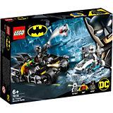 Конструктор LEGO Super Heroes 76118: Гонка на мотоциклах с Мистером Фризом