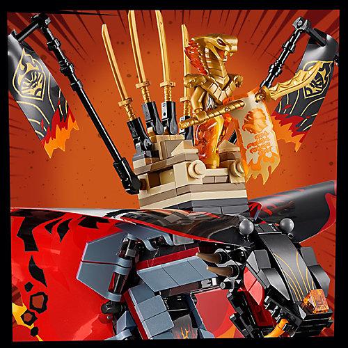 Конструктор LEGO Ninjago 70674: Огненный кинжал от LEGO
