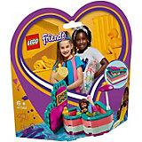 Конструктор LEGO Friends 41384: Летняя шкатулка-сердечко для Андреа